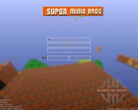 Mario Bros [16x][1.7.2] para Minecraft