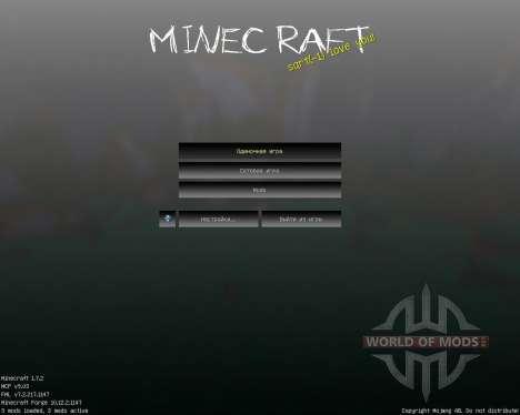 SlenderCraft [16x][1.7.2] para Minecraft