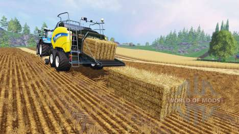 New Holland BigBaller 1290 para Farming Simulator 2015
