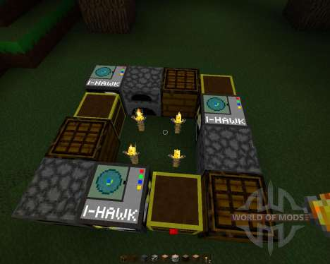 HawkPack [32x][1.7.2] para Minecraft