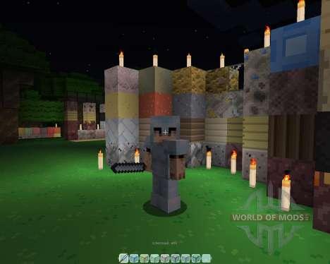 El fuego de la Hoja [16х][1.8.1] para Minecraft