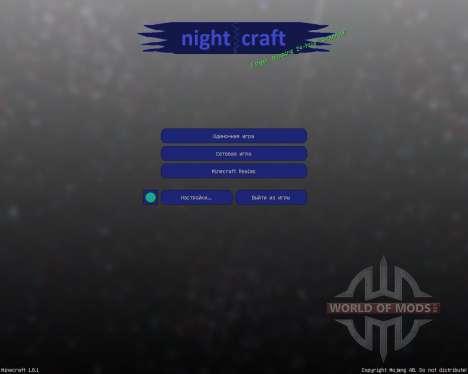 Nightcraft [32х][1.8.1] para Minecraft