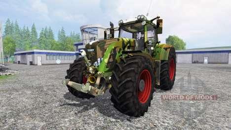 Fendt 936 Vario camouflage para Farming Simulator 2015
