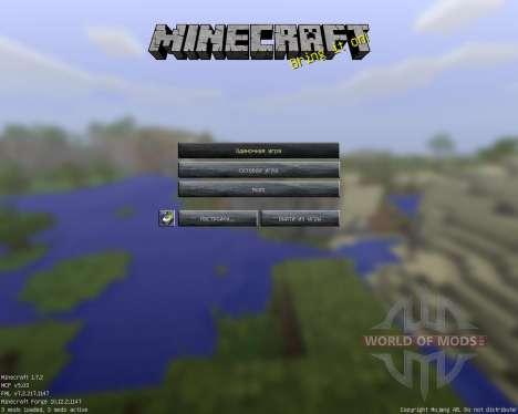 Cyberghostdes Scifantasy Pack [256x][1.7.2] para Minecraft
