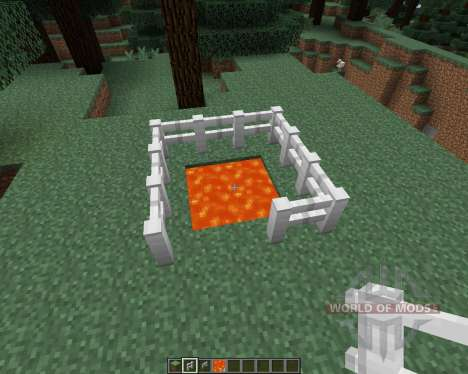 Iron Fence [1.7.2] para Minecraft