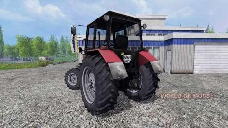 MTZ-Belarús 1025 v2.0 [rojo] para Farming Simulator 2015