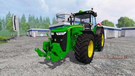 John Deere 7290R and 8370R para Farming Simulator 2015