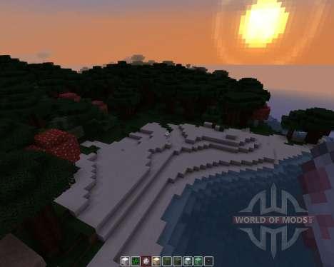 Pamplemousse [16x][1.8.1] para Minecraft