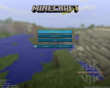 Plastic Pack [16x][1.7.2] para Minecraft