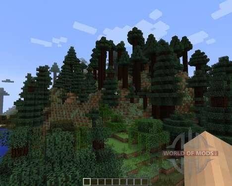 Alternate Terrain Generation [1.7.2] para Minecraft