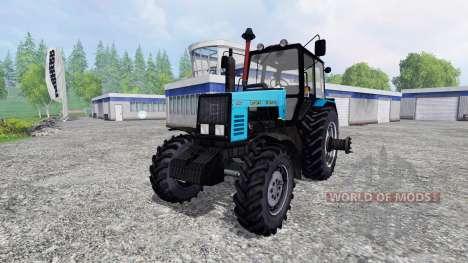 MTZ-1221 Bielorruso SAREx para Farming Simulator 2015