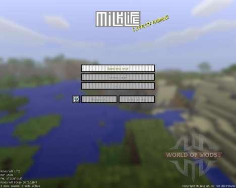 Milk Life [16x][1.7.2] para Minecraft