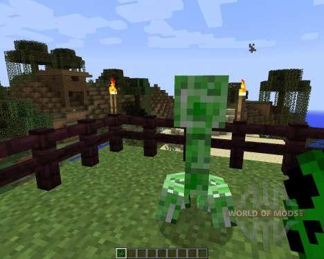 Stalker Creepers [1.7.2] para Minecraft