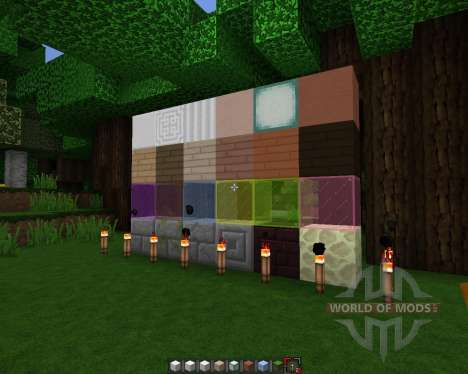 Rectic Pack [64x][1.8.1] para Minecraft