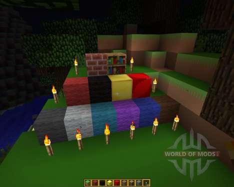 Defender of Texel Resource Pack [16x][1.7.2] para Minecraft