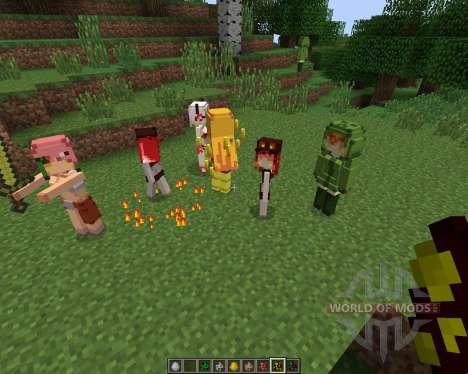 Cute Mob Models [1.7.2] para Minecraft