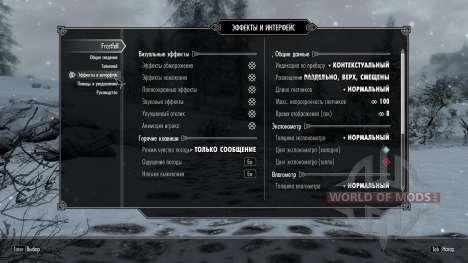 Freeze - la salvación en el campo [2.6] para el tercer Skyrim pantalla
