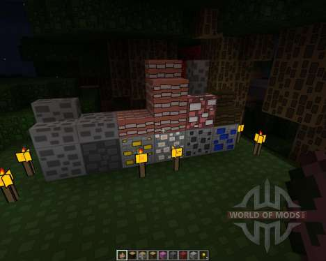 Rectangular Pack [128x][1.7.2] para Minecraft