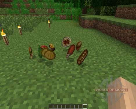 HarvestCraft [1.6.2] para Minecraft
