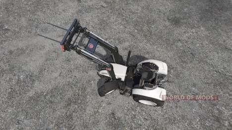 Steyr Multi 4115 roofless para Farming Simulator 2015