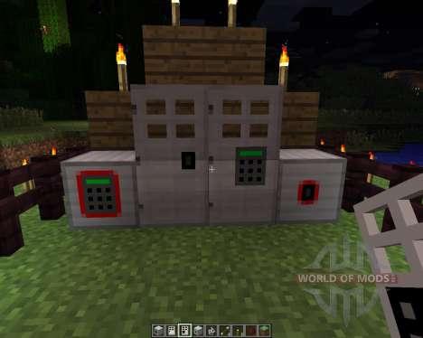 Key and Code Lock [1.6.2] para Minecraft