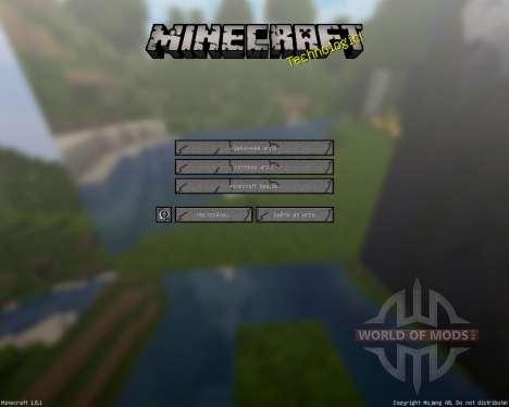 MineHD [256x][1.8.1] para Minecraft