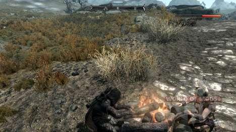 Freeze - la salvación en el campo [2.6] para Skyrim undécima de pantalla