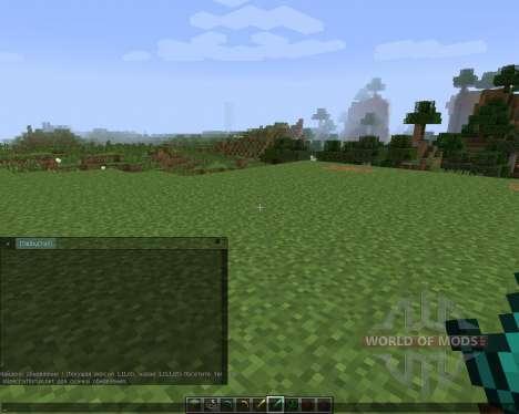 TabbyChat [1.7.2] para Minecraft