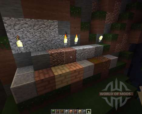 OTB Modern Textures [16x][1.8.1] para Minecraft