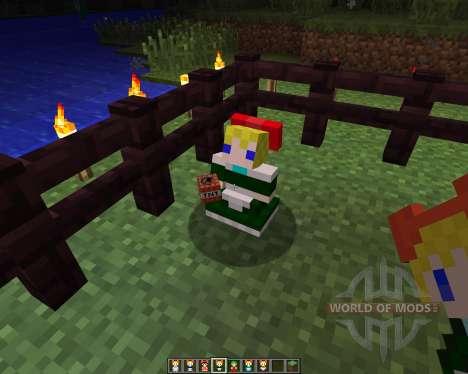 Touhou Alices Doll [1.6.2] para Minecraft
