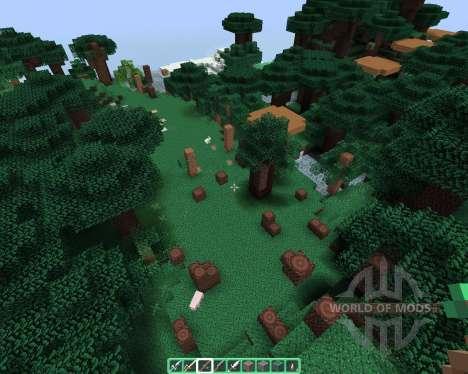 Alvorias Mint Flavor [64х][1.8.1] para Minecraft