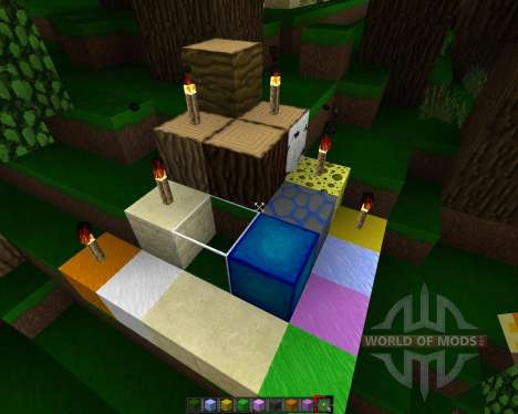 SporkPack [64x][1.7.2] para Minecraft