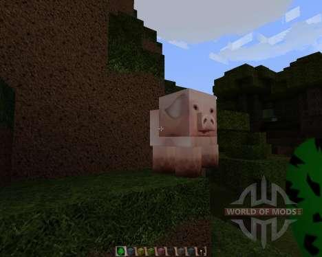 Afinidad-HD [128х][1.8.1] para Minecraft