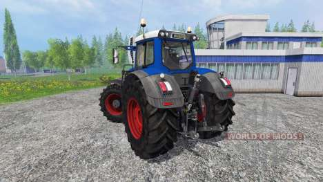 Fendt 936 Vario blue power para Farming Simulator 2015