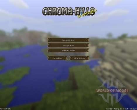 ChromaHills RPG [64x][1.8.1] para Minecraft