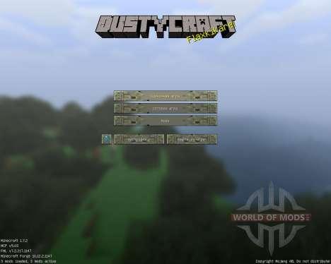 Dusty Craft [64x][1.7.2] para Minecraft