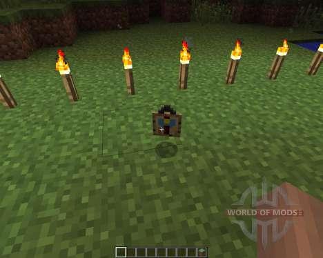 Wall Clock [1.6.2] para Minecraft