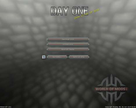 Day One [16x][1.8.1] para Minecraft
