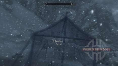 Freeze - la salvación en el campo [2.6] para Skyrim octavo de pantalla