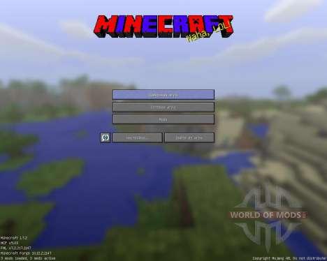 GUI [64x][1.7.2] para Minecraft