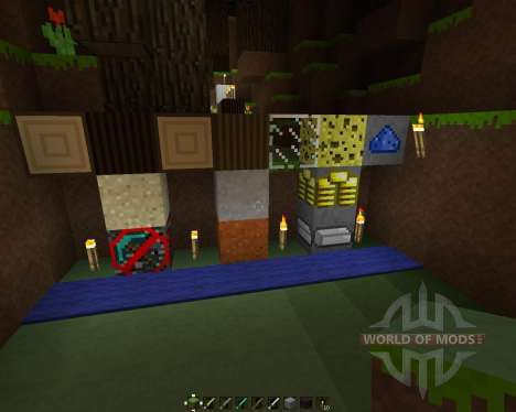 MineOrYoursCraft [16x][1.7.2] para Minecraft