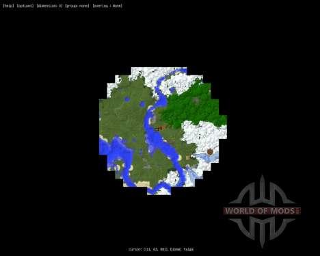 MapWriter [1.6.2] para Minecraft