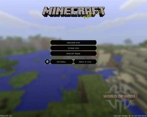 Nates de Vacaciones [16х][1.8.1] para Minecraft
