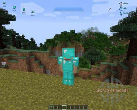 Halo HUD [1.7.2] para Minecraft