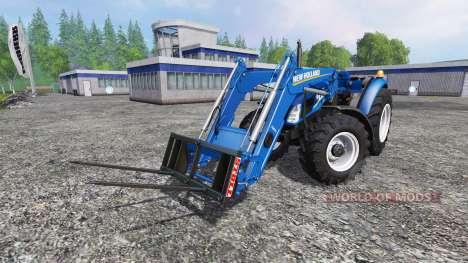 New Holland T4.75 garden edition v3.0 para Farming Simulator 2015