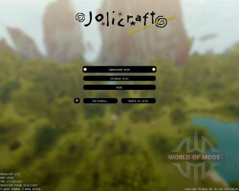 Jolicraft [16x][1.7.2] para Minecraft
