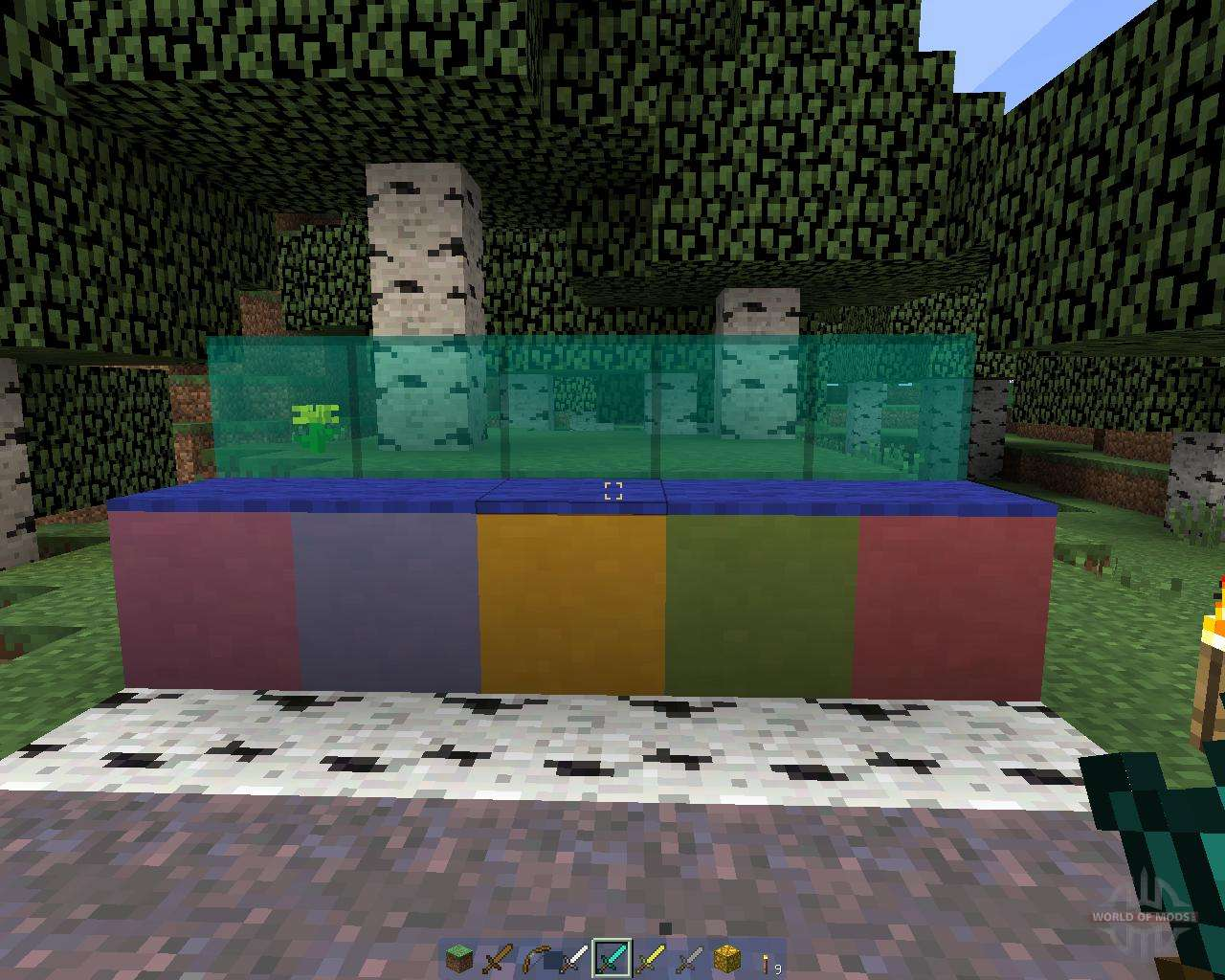 how to make glass in minecraft clear