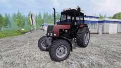 MTZ-Belarús 1025 v2.0 [rojo]