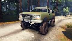 Dodge Ramcharger 1985 v0.1 para Spin Tires