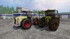 CLAAS Xerion 3800 Trac VC [clean and dirty]
